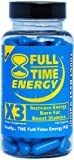 Product  - Product title Full-Time Energy X3 - 100 Capsules - Increase Energy Burn Fat Boost Stamina - Best Natural Energy Booster Fat Burner Supplements Stamina Enhancer - Weight Loss Diet Pill Lose Weight for Men and Women
