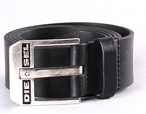 Nero cinghie in pelle Bluestar - Grande di Diesel