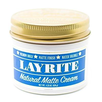 Layrite Natural Matte Cream Pomade 4.25 Ounces