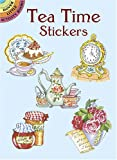 img - for Tea Time Stickers (Dover Stickers) book / textbook / text book