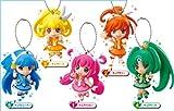 スマイルプリキュア! プリキュアマスコット アニメ フィギュア 食玩 バンダイ(全5種フルコンプセット)