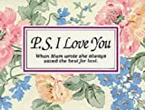 P.S. I Love You (Gift books) (1874504016) by Brown, H.Jackson