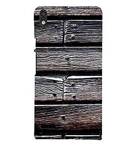 EPICCASE Woody Mobile Back Case Cover For Huawei Ascend P6 (Designer Case)