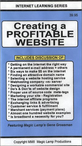 Creating A Profitable Website [VHS]