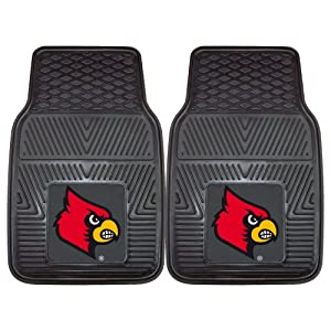 Buy FANMATS NCAA University of Louisville Cardinals Vinyl Heavy Duty Vinyl Car Mat by Fanmats