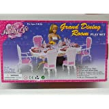 Ivory My Fancy Life Dollhouse Furniture Grand Dining Room Playset