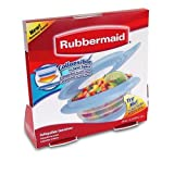 Rubbermaid FG7G1800MONST Collapsibles 2-1/2-Cup Food Storage Container