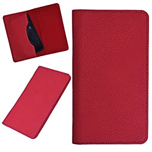DCR Pu Leather case cover for iPhone 4 / 4S (RED)