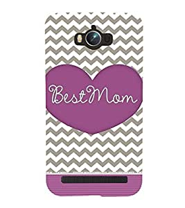 Best Mom Mother Mummy Cute Fashion 3D Hard Polycarbonate Designer Back Case Cover for Asus Zenfone Max ZC550KL :: Asus Zenfone Max ZC550KL 2016 :: Asus Zenfone Max ZC550KL 6A076IN