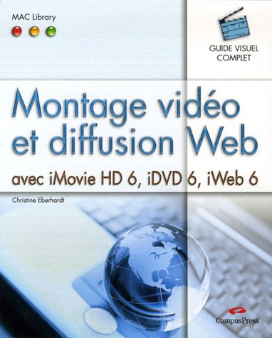 Montage video et diff. web mac library