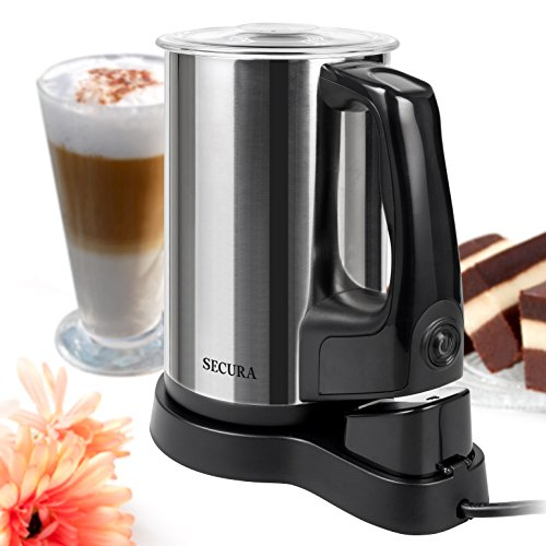 Secura Magnetic Automatic Electric Milk Frother And Warmer