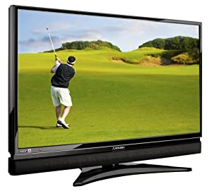 Mitsubishi LT-46149 46-Inch 1080p 120Hz LCD HDTV with Integrated Sound Projector