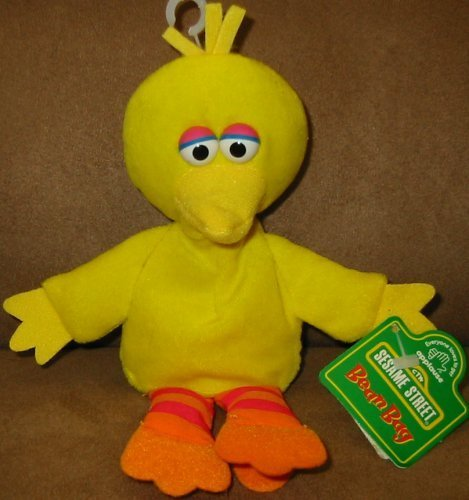 Sesame Street Big Bird Bean Bag