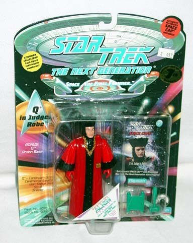 Star Trek The Next Generation Q In Judges Robes