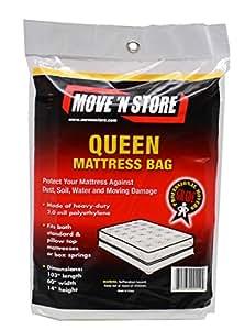Amazon Plastic Queen Mattress Moving Bag Cover 1 Bag