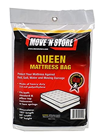 Amazon Plastic Queen Mattress Moving Bag Cover 10