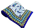 Shop Rajasthan Multicolor Reversible Abstract Print Cotton Jaipuri Modern Single Bed Quilt