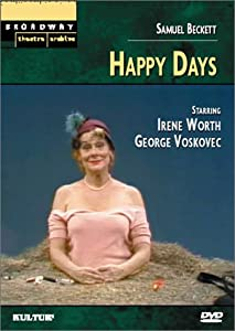 happy days by samuel beckett In happy days, samuel beckett pursues his relentless search for the meaning of existence, probing the tenuous relationships that bind one person to another, and each to the universe, top.