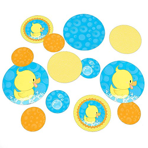 Big Dot Of Happiness - Ducky Duck - Baby Shower Or Birthday Party Table Confetti - 27 Count