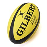 Zenon Trainer Rugby Ball - Fluro Size 5