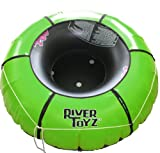 Intex River Rat Tube and RiverToyz Green Heavy Duty Cover
