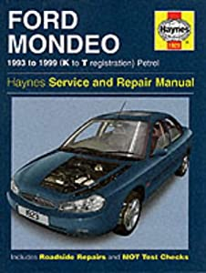 Ford Mondeo Service and Repair Manual (Haynes Service and