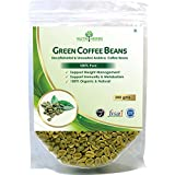 "Nutriherbs Green Coffee Beans Decaffeinated & Unroasted Arabica Grade ""A"" Coffee Beans - 200 Gms For Weight Management..."