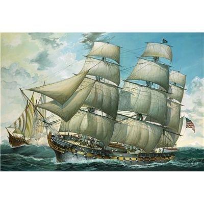 Revell-Modellbausatz-05406-Fregatte-USS-United-States-im-Mastab-1150