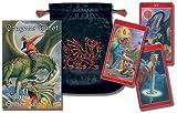 Dragons Tarot/Tarot de Los Dragones Cards [With Embroidered Velvet Bag]