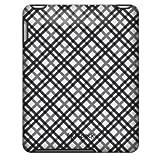 Speck Fitted Case for Apple iPad - TartanPlaid White/Black