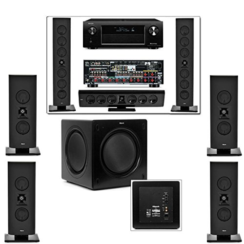Klipsch Gallery G-28 7.1 Home Theater-Sw-310-Denon Avr-X4000 In-Command 7.2Channel