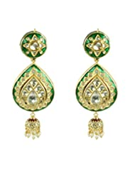 BGS Style Diva Gold Plated Metal Earring For Women - B00L2EK2QA