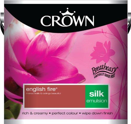 Crown Silk 2.5L Emulsion - English Fire