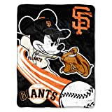 MLB San Francisco Giants 46x60-Inch Micro Raschel Throw