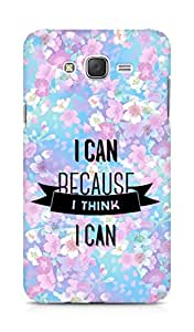 Amez I Can because I Think Back Cover For Samsung Galaxy J7