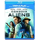 Cowboys & Aliens - Triple Play (Blu-ray + DVD + Digital Copy) [2011] [Region Free]by Olivia Wilde