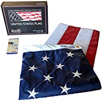 Nylon SolarGuard 5x8 ft. American Flag with Sewn Stripes
