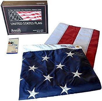 Nylon SolarGuard 5x8 ft. American Flag