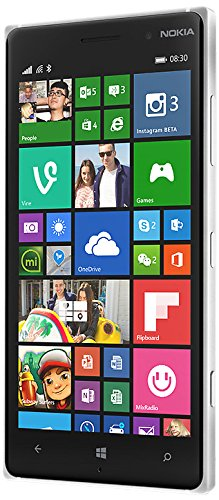 Nokia Lumia 830 noir Windows Phone 8.1 Smartphone