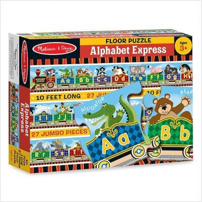 Cheap Fun Melissa and Doug 4420 Alphabet Express Floor Puzzle (B002ZZXSWK)