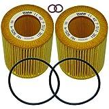 2 BMW Genuine Oil Filters E36 & E46 (92-05) E39 & E60 (95-07) X3 X5 Z3 Z4 (95-06)