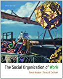 The Social Organization of Work (111130095X) by Hodson, Randy