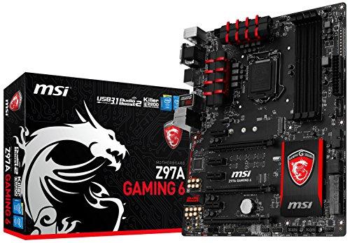 MSI Computer ATX DDR3 1066 LGA 1150 Z97A GAMING 6 Motherboard
