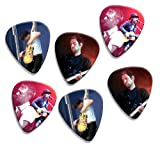 Radiohead Thom Yorke (WK) 6 X Live Performance Guitar Picks