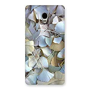 Delighted Beauty Leaves Back Case Cover for Lenovo Vibe P1