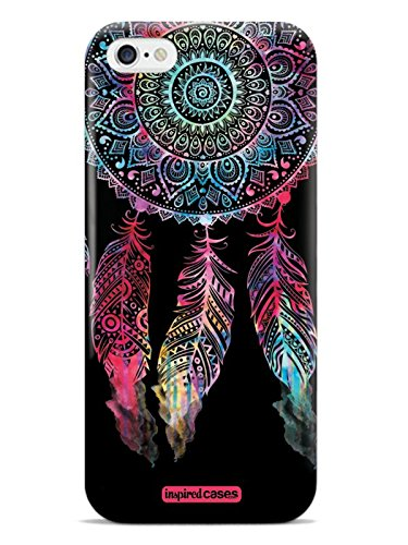 Inspired Cases 3D Textured Dark Watercolor Dreamcatcher Spiritual Native American Case for iPhone 6 & 6s