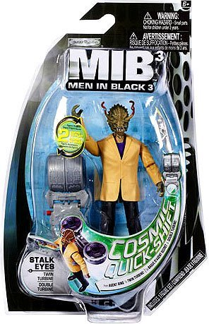 Men In Black 3 Basic 4 Inch Action Figure Stalk Eyes - 1