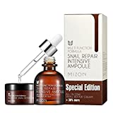 MIZON Snail Repair Intensive Ampoule + All In One Snail Repair Cream 30ml