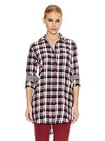 Gant Camisa Casual (Negro / Rojo / Blanco)