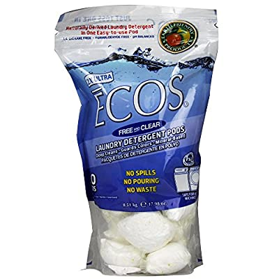(2 Pack) - Earth Friendly Products - ECOS Laundry Detergent Pods | 20's | 2 PACK BUNDLE